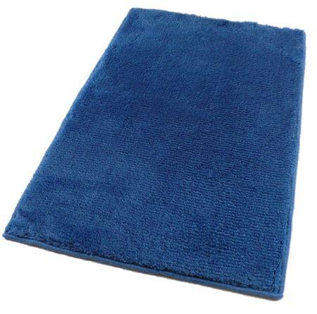ROUTNER Fürdőszoba-szőnyeg, cseh produkció, UNI COLOR Kék - 50 x 80 cm
