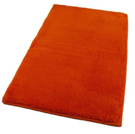 ROUTNER Fürdőszoba-szőnyeg, cseh produkció, UNI COLOR Narancssárga - 50 x 80 cm