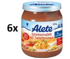 ALETE Těstoviny se šunkou a zeleninou - 6x250g