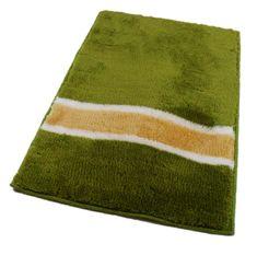 ROUTNER Fürdőszoba-szőnyeg, cseh produkció, LAVELLO Zöld