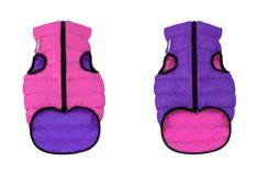 Airyvest Teplá vesta pro psa AiryVest růžovo fialová
