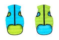 Airyvest Teplá vesta pro psa AiryVest zeleno modrá