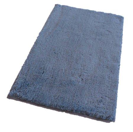 ROUTNER Fürdőszoba-szőnyeg, cseh produkció, COTTON Kék-szürke - 80 x 150 cm