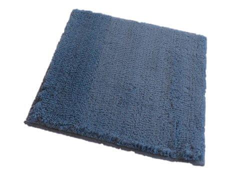ROUTNER Fürdőszoba-szőnyeg, cseh produkció, COTTON Kék-szürke - 50 x 50 cm