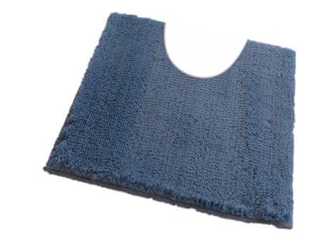 ROUTNER Fürdőszoba-szőnyeg, cseh produkció, COTTON Kék-szürke - 60 x 60 cm WC