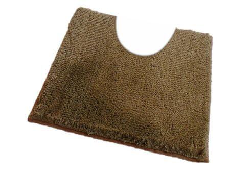 ROUTNER Fürdőszoba-szőnyeg, cseh produkció, COTTON Olívazöld - 60 x 60 cm WC
