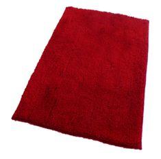 ROUTNER Fürdőszoba-szőnyeg, cseh produkció, COTTON Piros