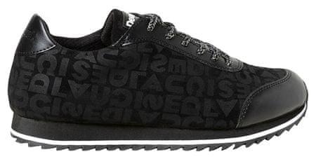 Desigual Trampki damskie Shoes Pegaso Desigu Negro 19WSKP09 2000 (rozmiar 40)