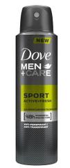 Dove Sport Active Fresh antiperspirant za moške, 150 ml