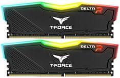 Team T-FORCE Delta RGB 16GB (2x8GB) DDR4 2666, black