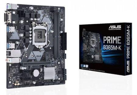 Asus PRIME B365M-K, DDR4, USB 3.1 Gen1, LGA1151, mATX osnovna plošča