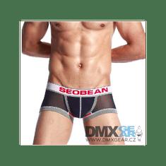 SEOBEAN sötétkék hálószerű Breathable Boxer boxeralsó
