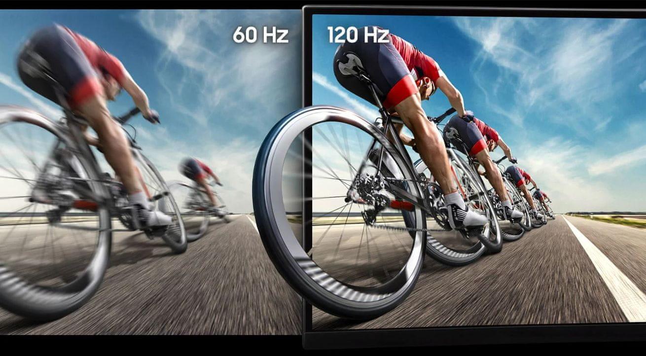 herní monitor Samsung C49RG90 (LC49RG90SSUXEN) rychlá obnovovací frekvence 120 Hz
