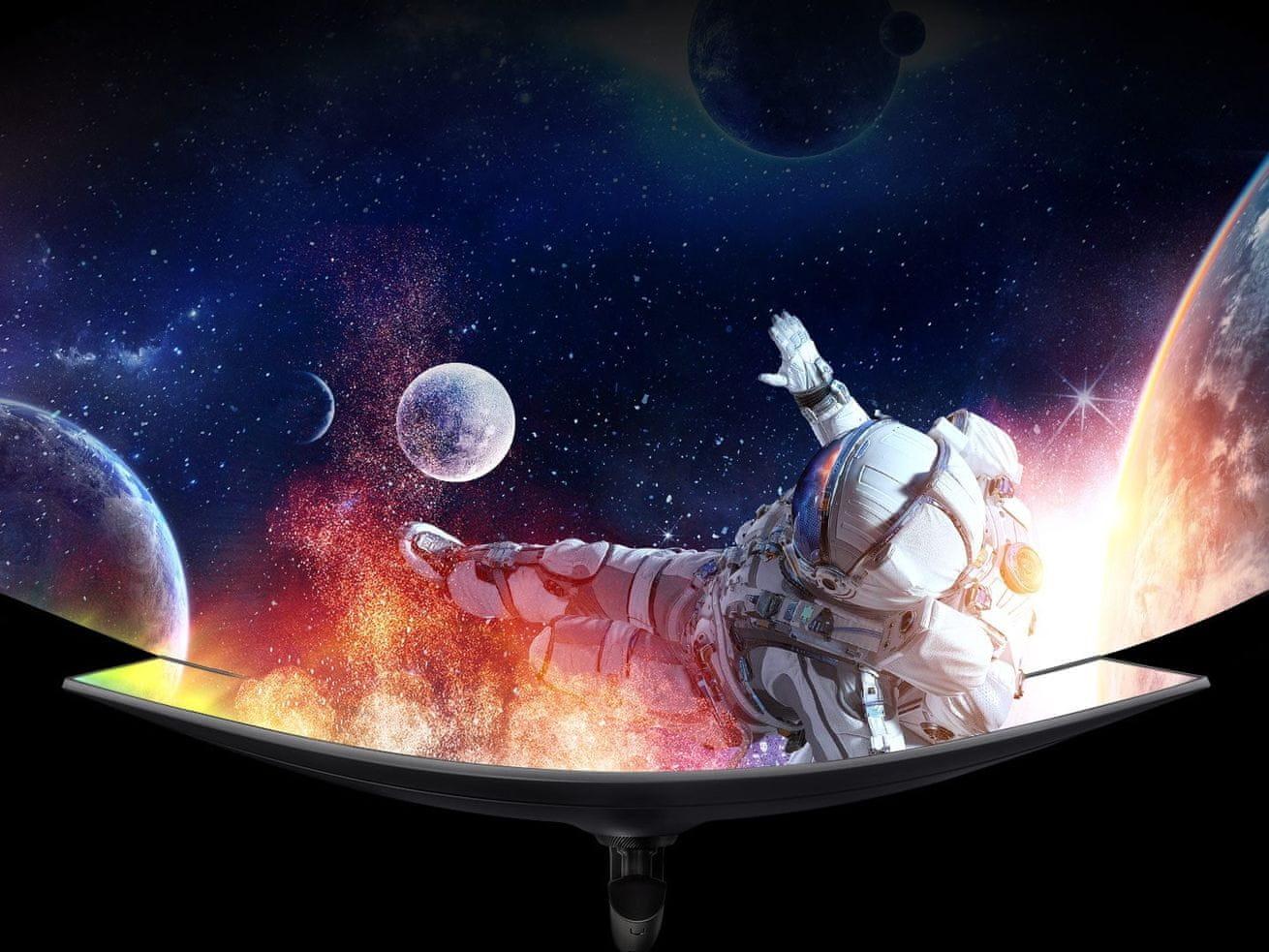 herní monitor Samsung C49RG90 (LC49RG90SSUXEN) odstranění lagů široká úhlopříčka virtuální zaměření