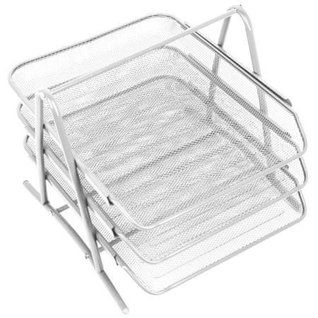 Leviatan Levia predalnik, 3 delni, kovinski, bel
