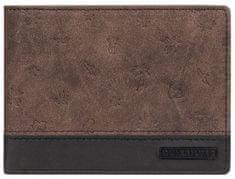 Quiksilver Męska portmonetka Mini Mo Wall et Pu Choco late Brown EQYAA03818-CSD0