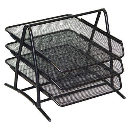 Leviatan Levia predalnik, 3 delni, kovinski, črn