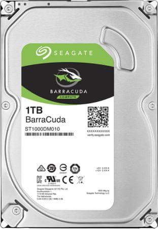 "Seagate BarraCuda, 3,5"" - 1TB"
