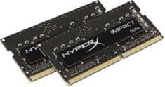 HyperX Impact Black 8GB (2x4GB) DDR4 2400 SO-DIMM