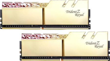 G.Skill TridentZ Royal 16GB (2x8GB) DDR4 3600, zlatá