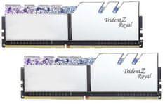 G.Skill TridentZ Royal 16GB (2x8GB) DDR4 3000, strieborná