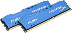 HyperX Fury Blue 8GB (2x4GB) DDR3 1600
