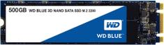 Western Digital WD Blue 3D NAND, M.2 - 500 GB WDS500G2B0B