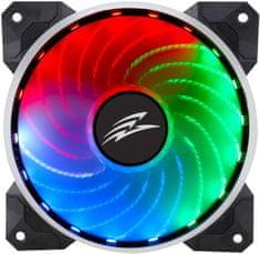 Evolveo 12R1R Rainbow, RGB ventilátor 120mm, 5V, 6pin
