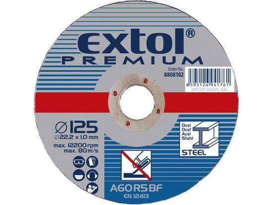 Extol Premium Kotúč rezný na oceľ a antikoro, 230x3,0mm