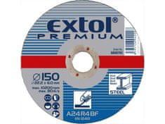 Extol Premium Kotouč brusný na ocel, 150x6,0x22,2mm