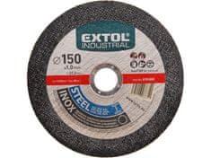 Extol Industrial Kotúč rezný na oceľ a antikoro 125x1,0mm
