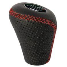 Sumex ručica mjenjača, crna s crvenim šavovima, podignuta za vožnju unatrag