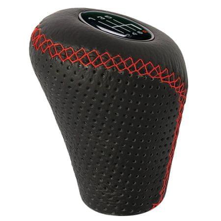 Sumex prestavna ročica črna s rdečmi šivi, dvig za vzvratno prestavo