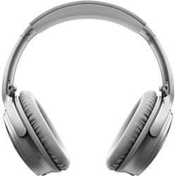 Bose QuietComfort 35 II bezdrátová sluchátka, stříbrná