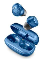 CellularLine Petit brezžične slušalke (TWS) s polnilno prenosno torbico