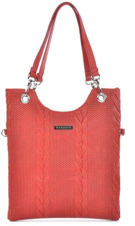 Mangotti kabelka MG 877 červená