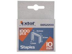 Extol Premium Spony 8mm, 11,3x0,52x0,70mm, balenie 1000ks
