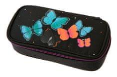 Schneiders pernica Walker Butterfly, crna