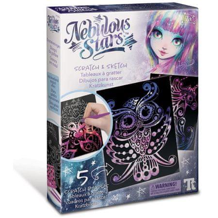 Nebulous Stars kreativni set – podrgni in naredi