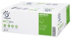 Papernet Ecolabel Biotech Superior biorazgradljiv toaletni papir v lističih, 2-slojni, 40 zvitkov