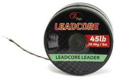 ZFISH Olověná Šňůra Leadcore Leader 45 lb 5 m