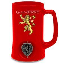 Game of Thrones Keramický Korbel Hra o trůny - Lanister červený