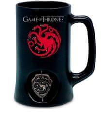 Game of Thrones Keramický Korbel Hra o trůny - Targaryen