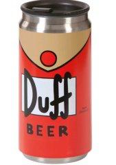 The Simpsons Cestovní hrnek Simpsons - Duff Beer