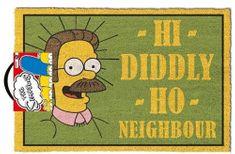 Grooters Rohožka Simpsons - Ned Flanders
