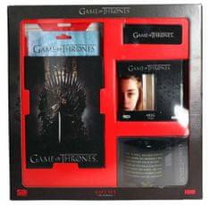 Game of Thrones Dárkový set Hra o trůny - hrnky, blok, záložka