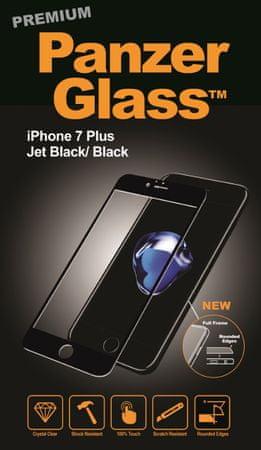 PanzerGlass zaščitno steklo Premium za Apple Iphone 7 Plus, črno