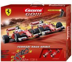 CARRERA Autóverseny-pálya GO 62453 Ferrari Race Spirit