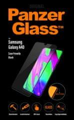 PanzerGlass zaštitno staklo za Samsung Galaxy A40, crno