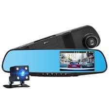 M-Tech auto snimač DVR, u ogledalu